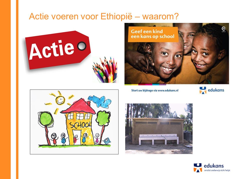 Actie voeren voor Ethiopië – waarom