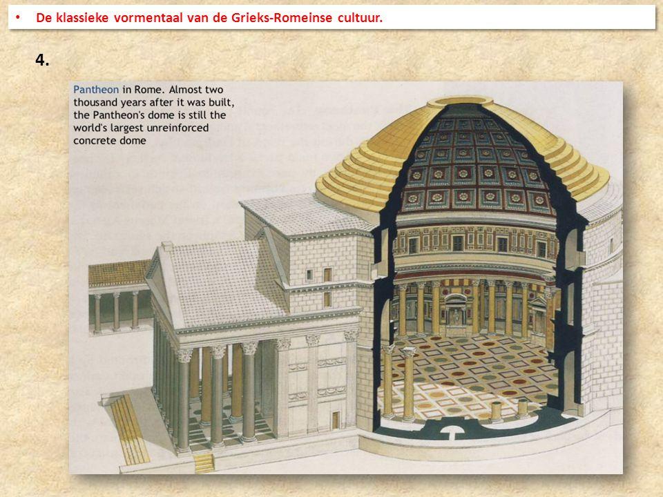 De klassieke vormentaal van de Grieks-Romeinse cultuur.