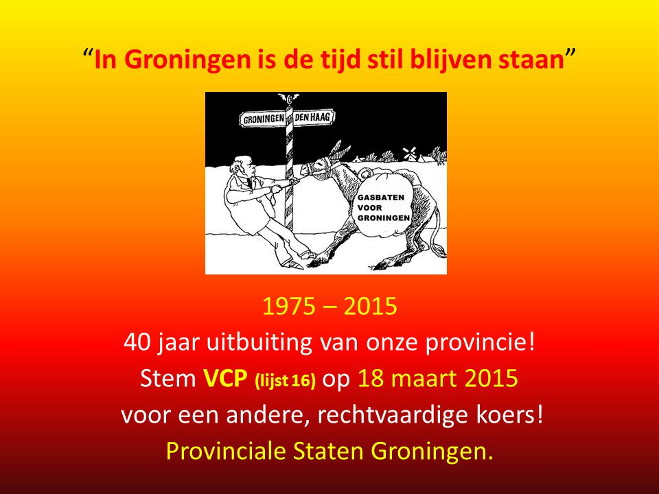 In Groningen is de tijd stil blijven staan