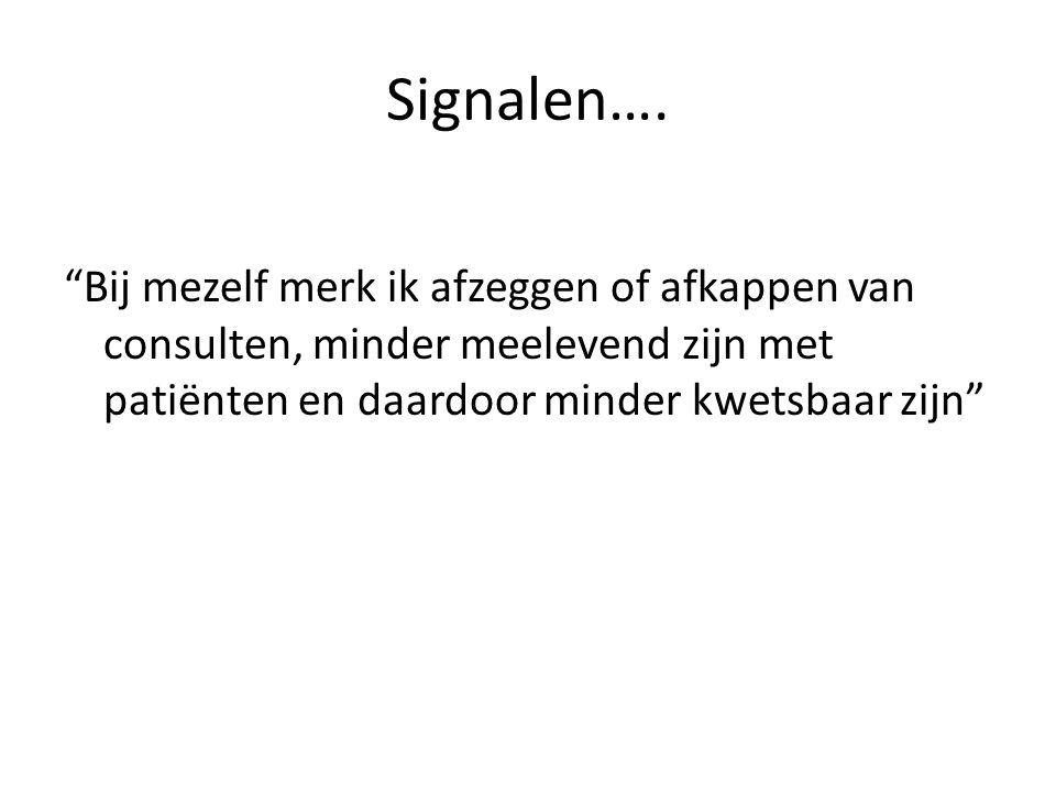 Signalen….