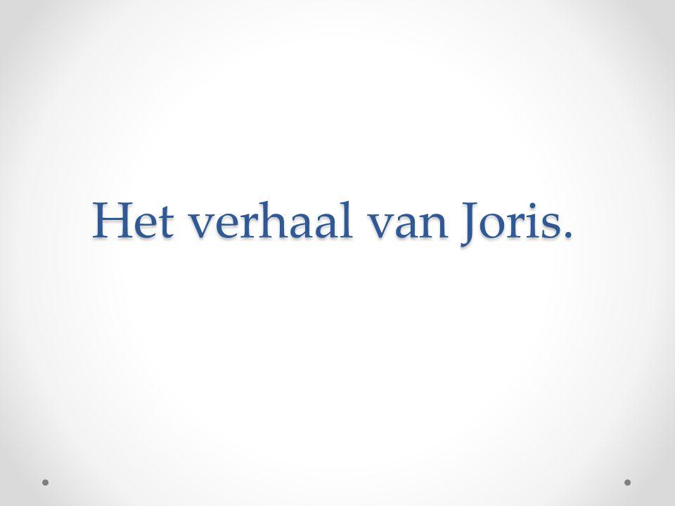 Het verhaal van Joris.