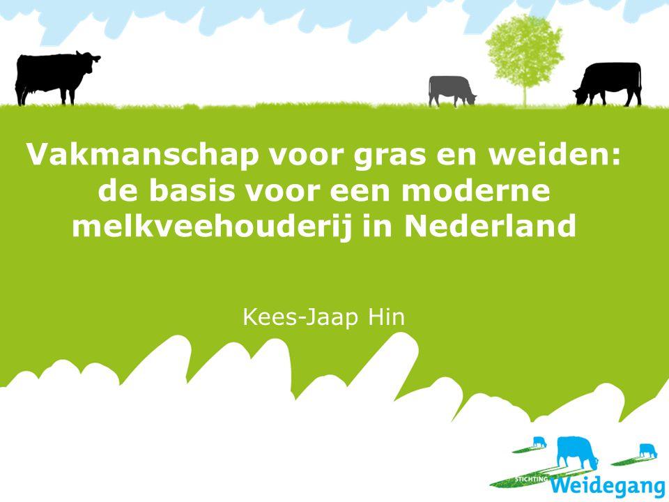 Vakmanschap voor gras en weiden: de basis voor een moderne melkveehouderij in Nederland