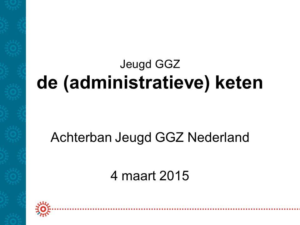 Jeugd GGZ de (administratieve) keten