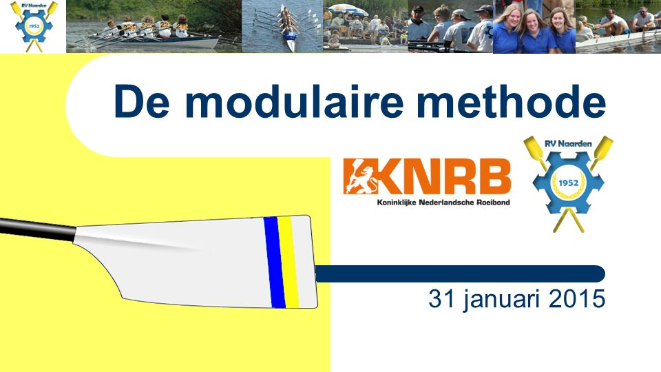 De modulaire methode 31 januari 2015