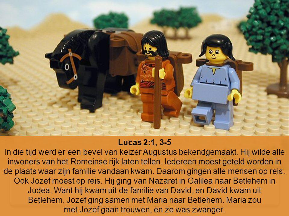 Lucas 2:1, 3-5