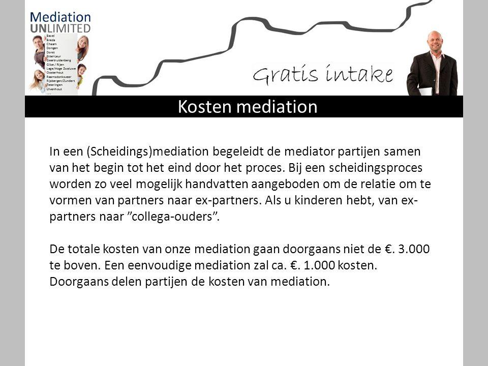 Kosten mediation