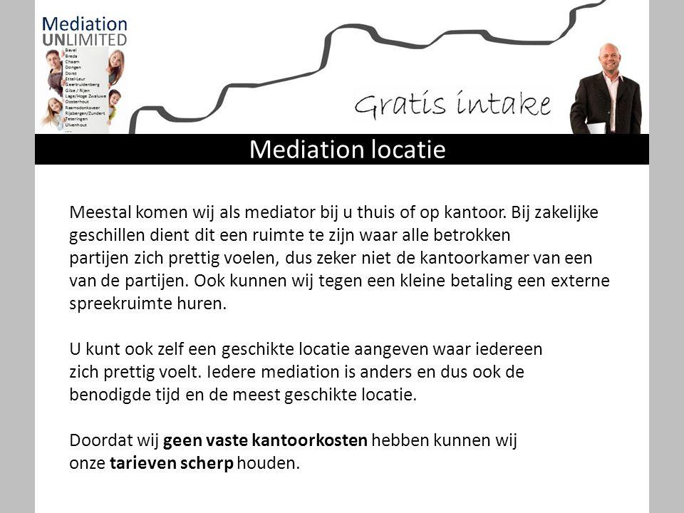 Mediation locatie