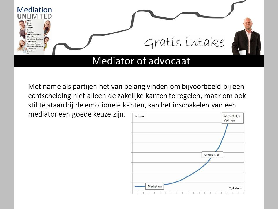 Mediator of advocaat
