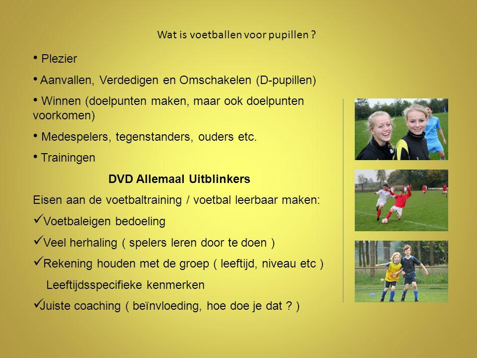 Wat is voetballen voor pupillen