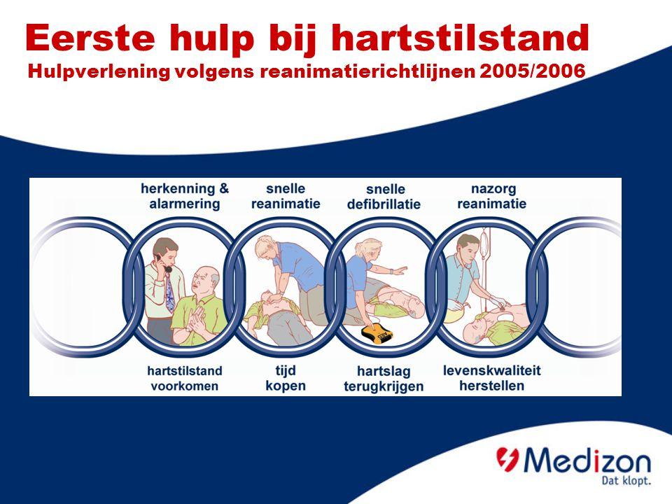 Eerste hulp bij hartstilstand Hulpverlening volgens reanimatierichtlijnen 2005/2006