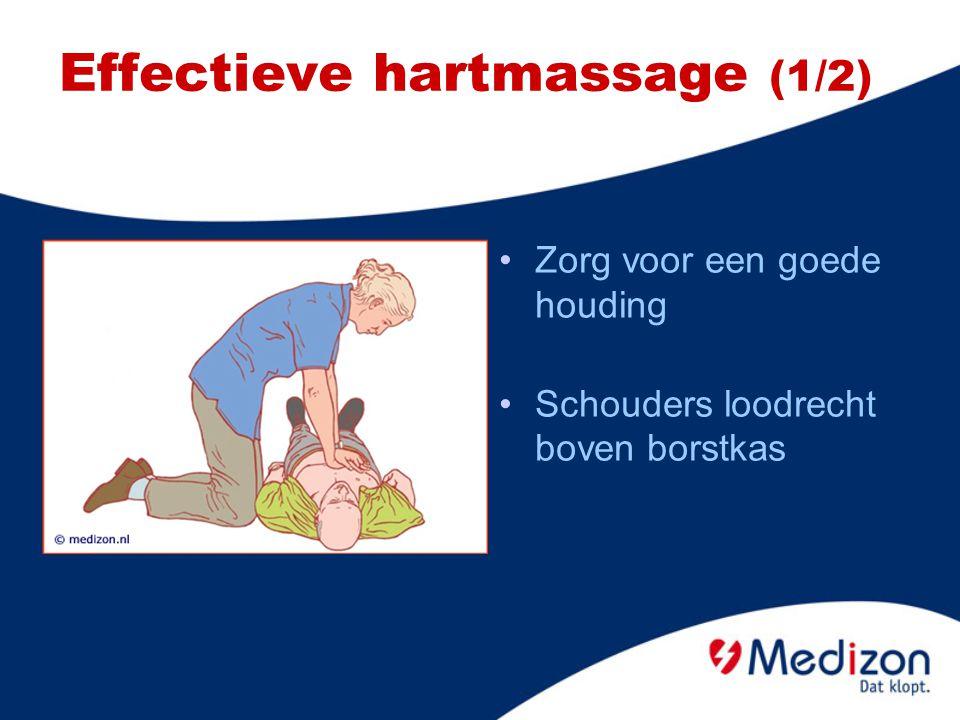 Effectieve hartmassage (1/2)