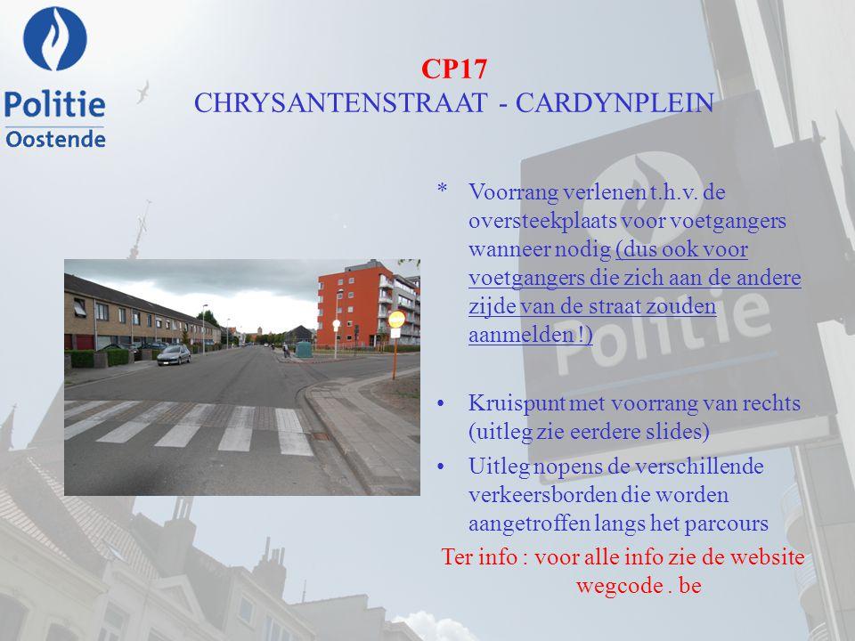 CP17 CHRYSANTENSTRAAT - CARDYNPLEIN