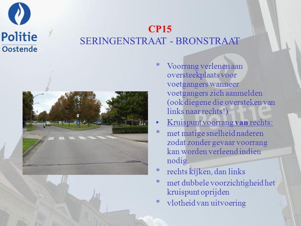 CP15 SERINGENSTRAAT - BRONSTRAAT