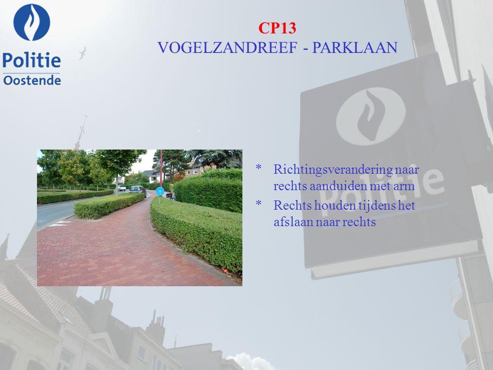 CP13 VOGELZANDREEF - PARKLAAN