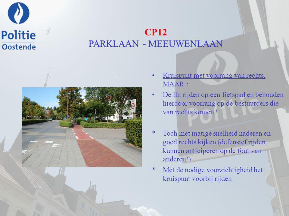 CP12 PARKLAAN - MEEUWENLAAN