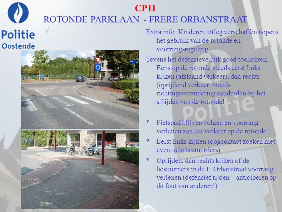 CP11 ROTONDE PARKLAAN - FRERE ORBANSTRAAT