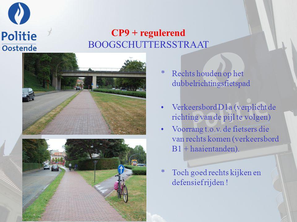 CP9 + regulerend BOOGSCHUTTERSSTRAAT