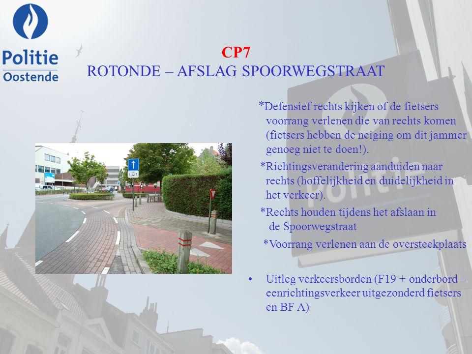 CP7 ROTONDE – AFSLAG SPOORWEGSTRAAT