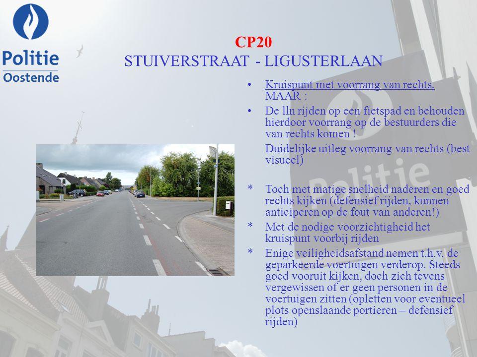 CP20 STUIVERSTRAAT - LIGUSTERLAAN