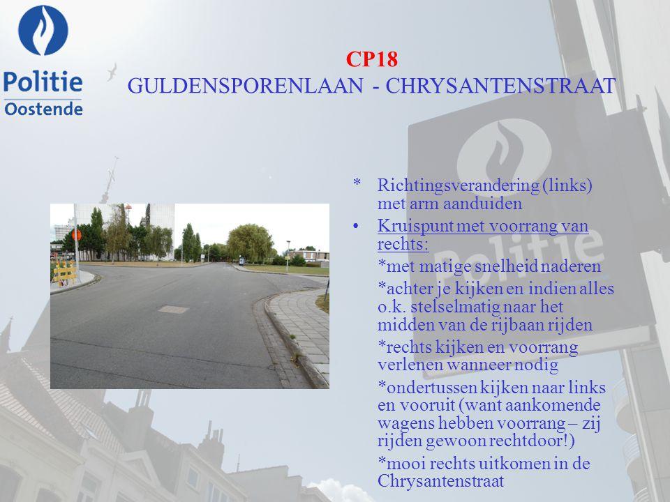 CP18 GULDENSPORENLAAN - CHRYSANTENSTRAAT