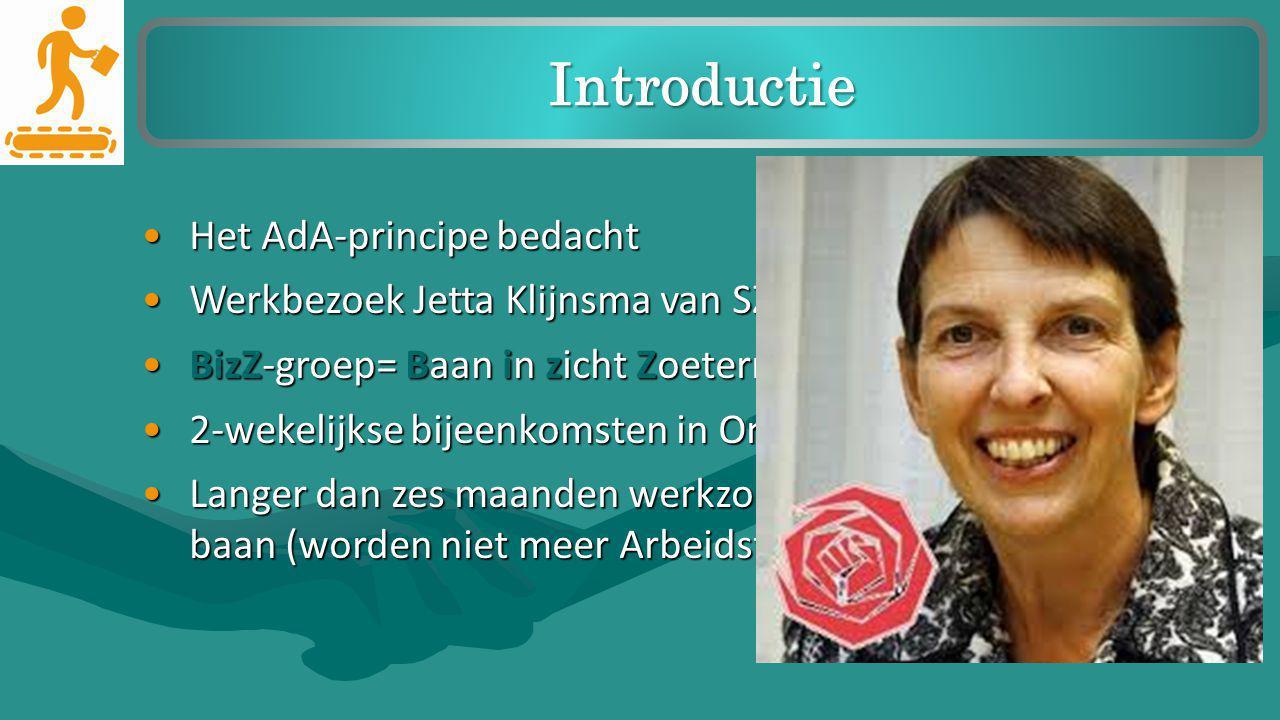 Introductie Het AdA-principe bedacht