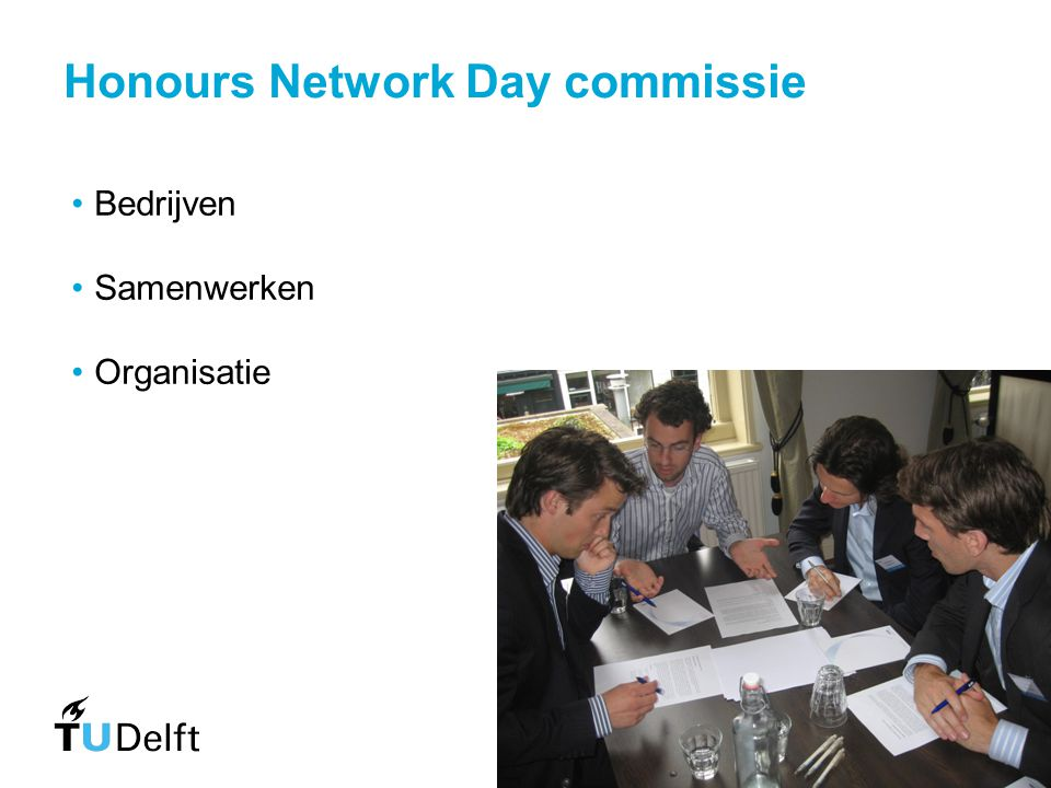 Honours Network Day commissie