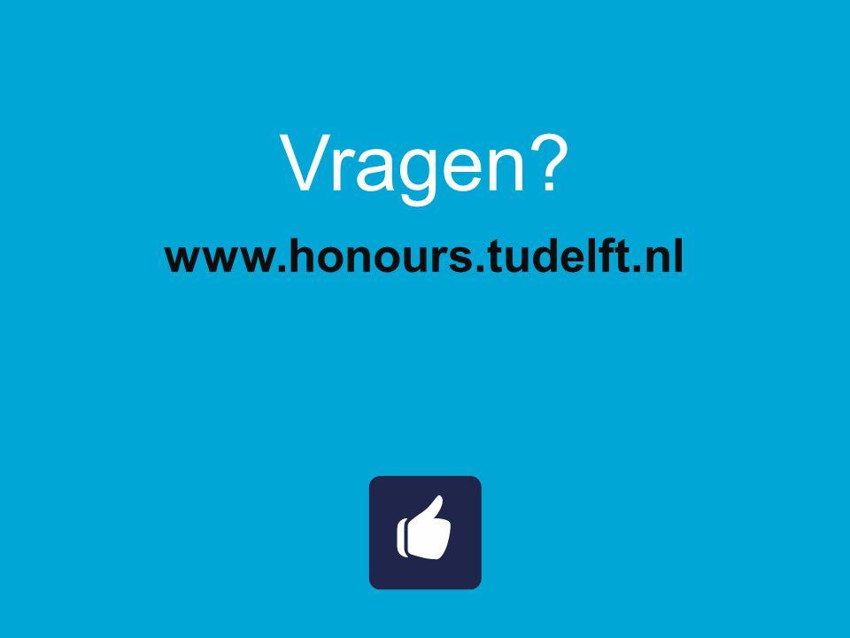 Vragen www.honours.tudelft.nl