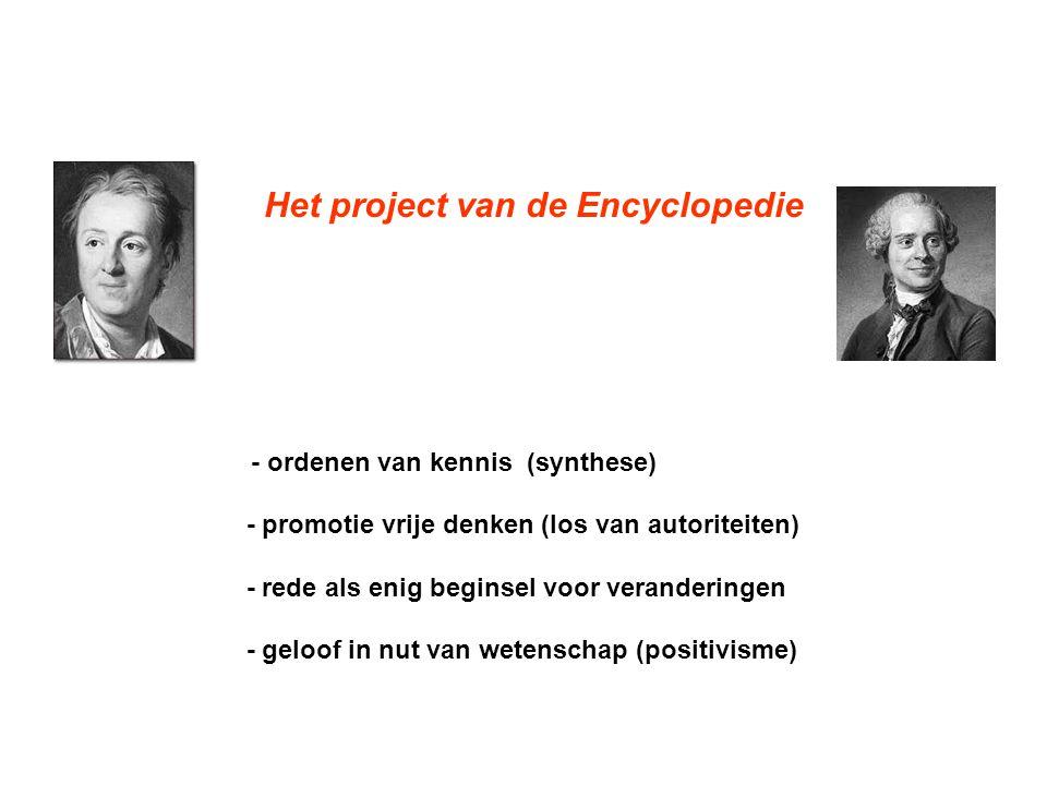 - promotie vrije denken (los van autoriteiten)
