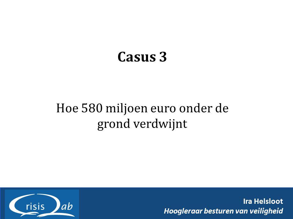 Hoe 580 miljoen euro onder de grond verdwijnt