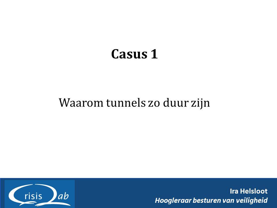 Waarom tunnels zo duur zijn