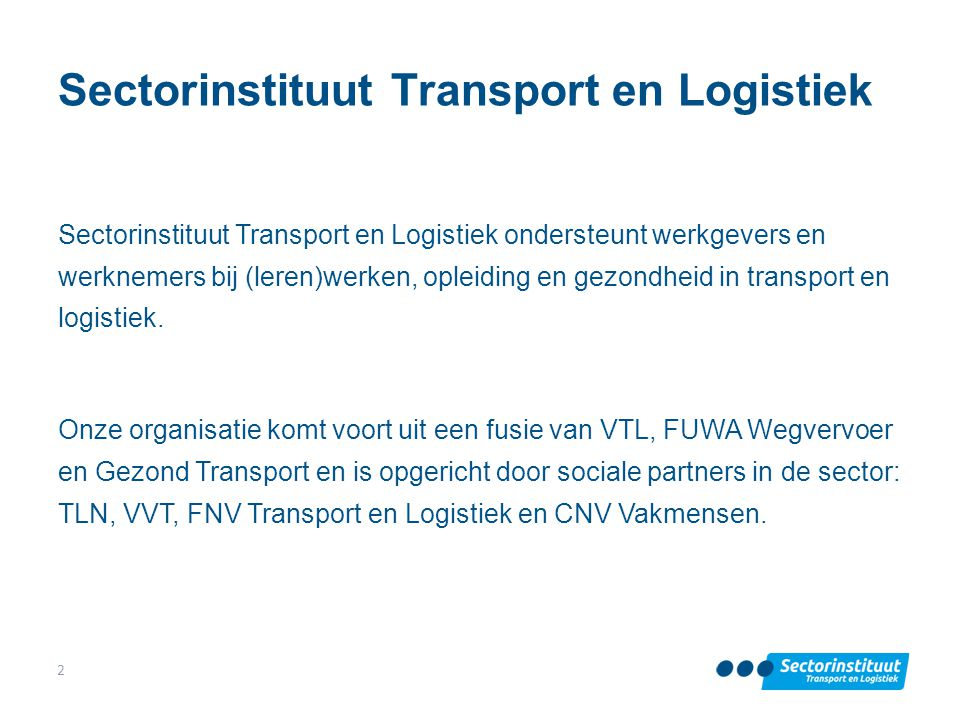 Sectorinstituut Transport en Logistiek