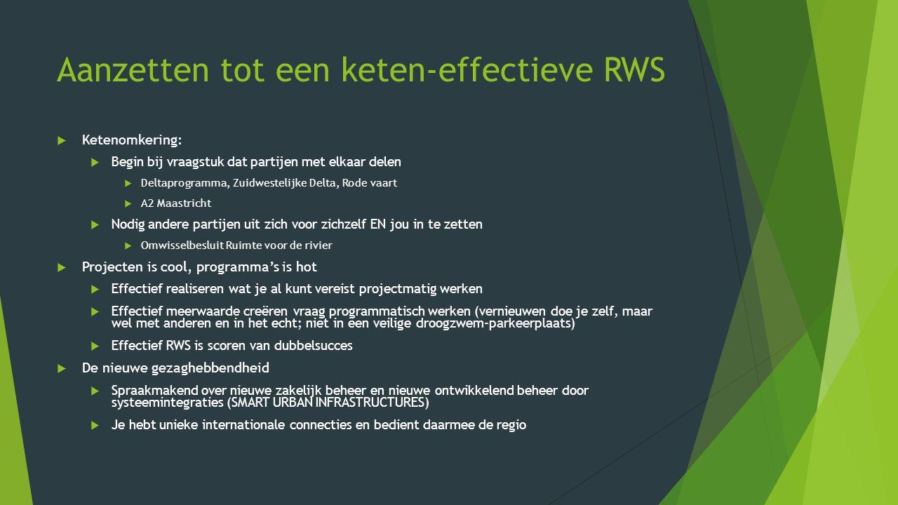 Aanzetten tot een keten-effectieve RWS