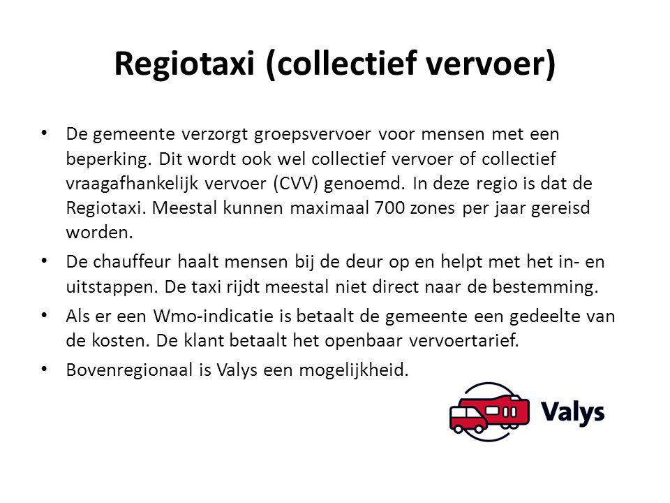 Regiotaxi (collectief vervoer)