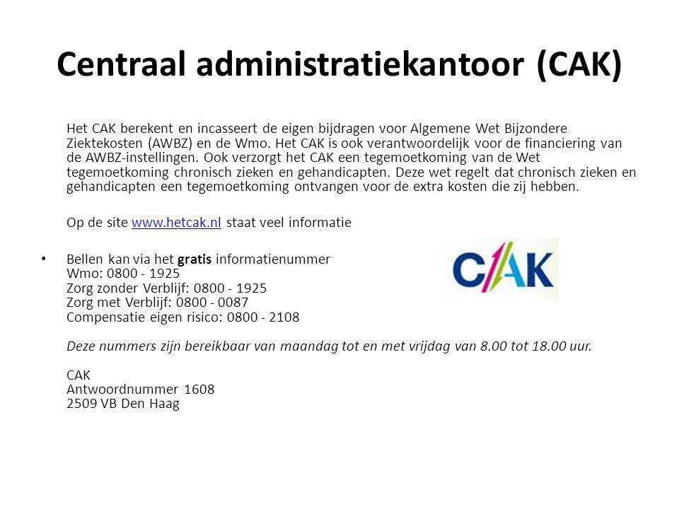 Centraal administratiekantoor (CAK)
