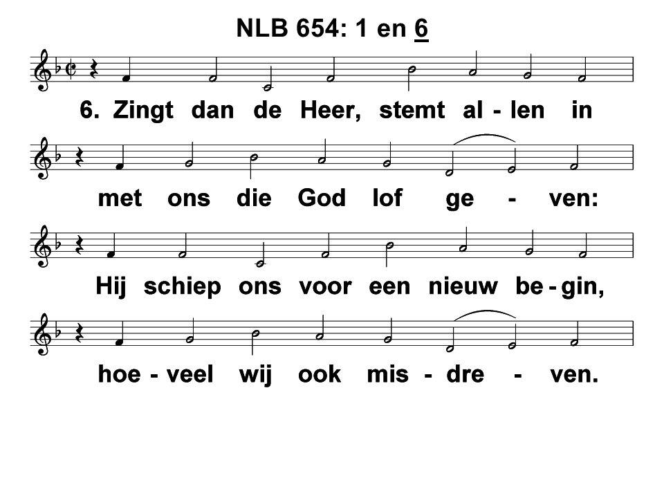 NLB 654: 1 en 6