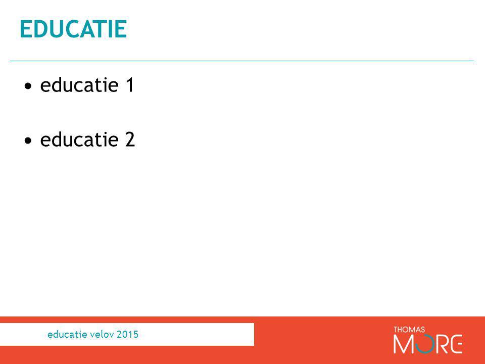 educatie educatie 1 educatie 2 educatie velov 2015