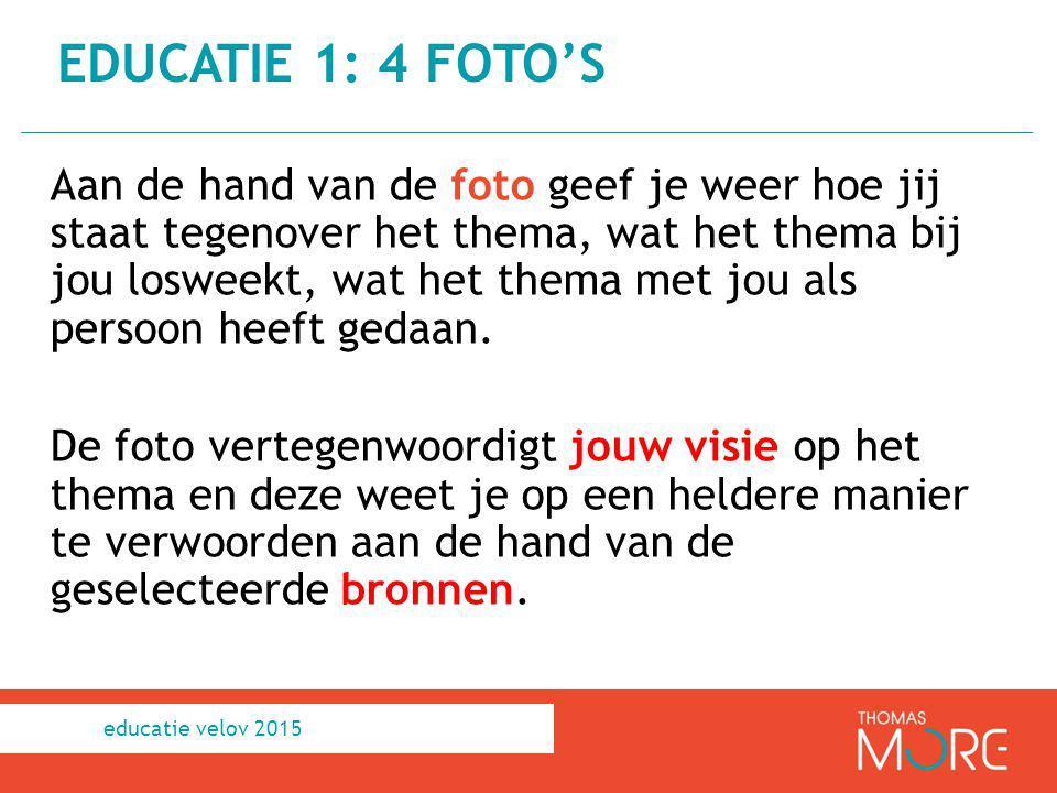 educatie 1: 4 Foto's