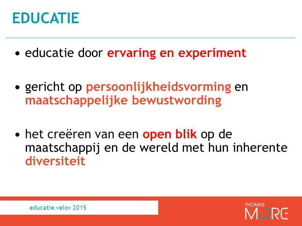 educatie educatie door ervaring en experiment