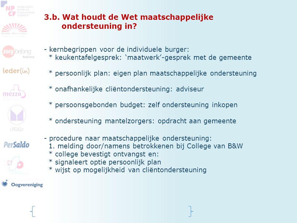 3.b. Wat houdt de Wet maatschappelijke ondersteuning in