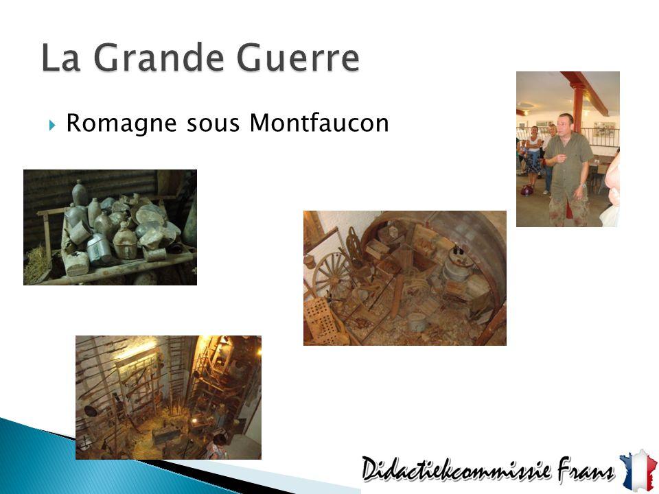 La Grande Guerre Romagne sous Montfaucon