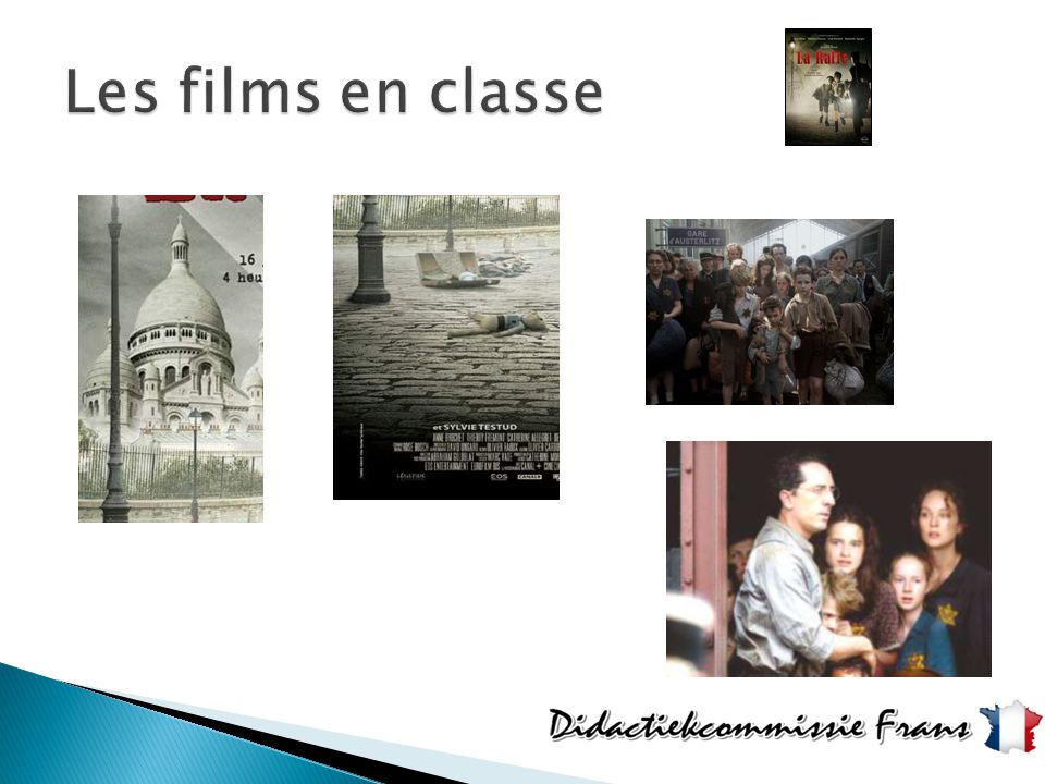 Les films en classe