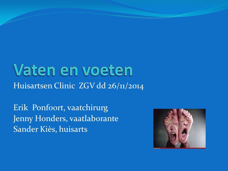 Vaten en voeten Huisartsen Clinic ZGV dd 26/11/2014