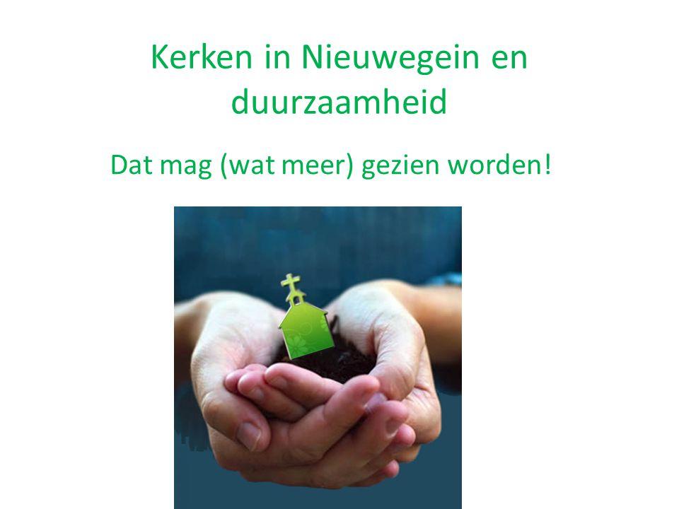 Kerken in Nieuwegein en duurzaamheid