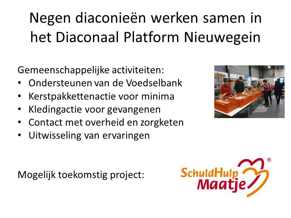 Negen diaconieën werken samen in het Diaconaal Platform Nieuwegein