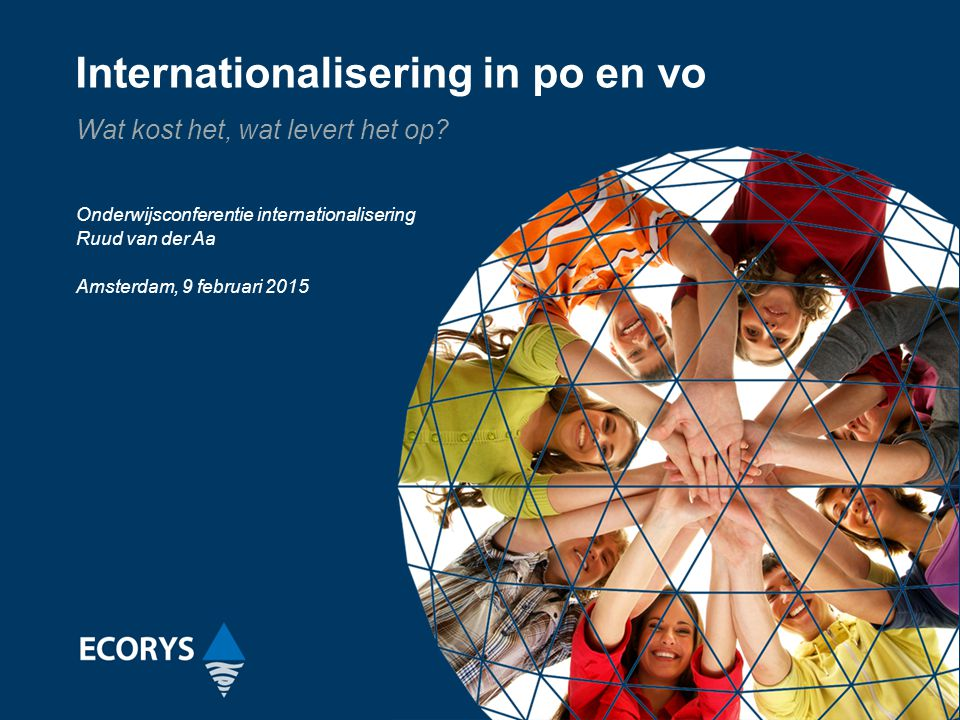 Internationalisering in po en vo