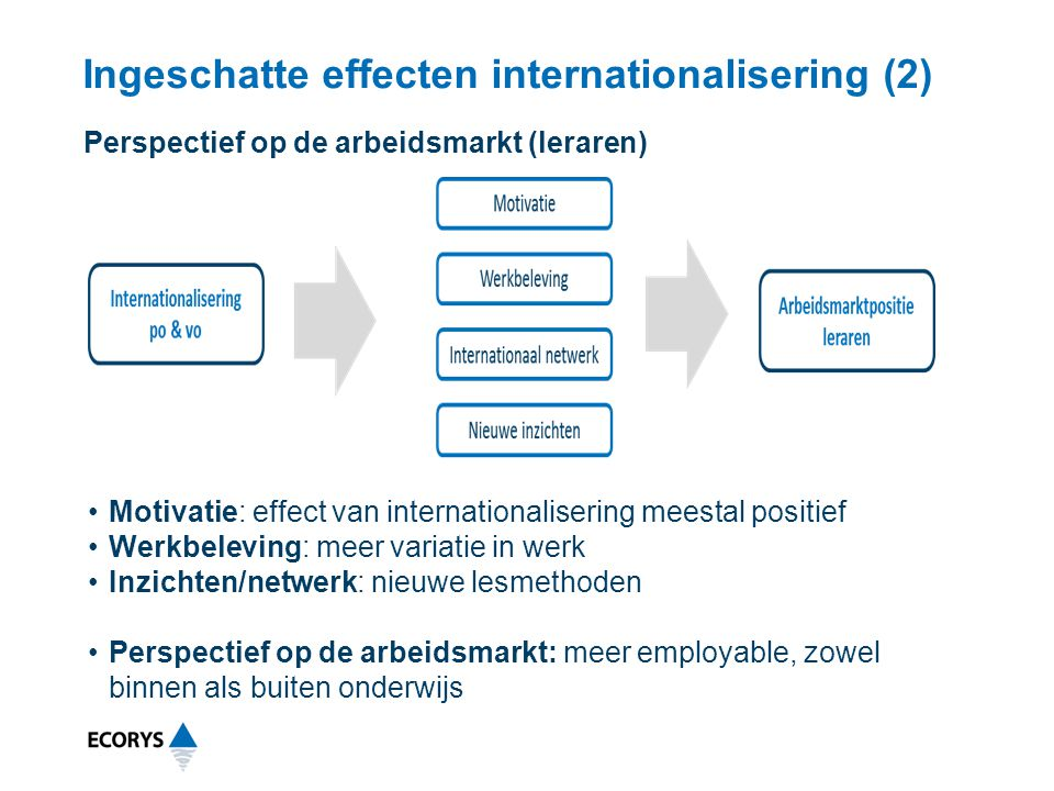 Ingeschatte effecten internationalisering (2)