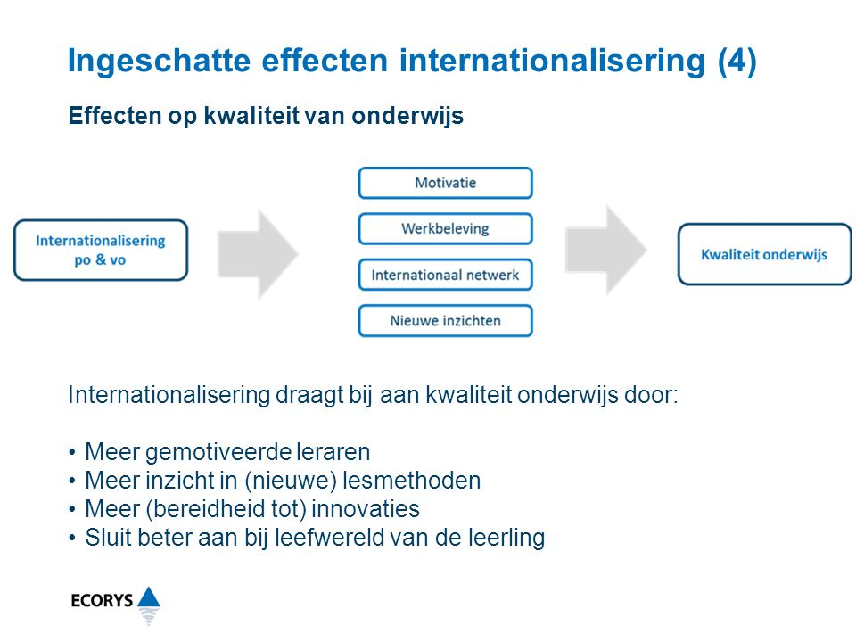 Ingeschatte effecten internationalisering (4)