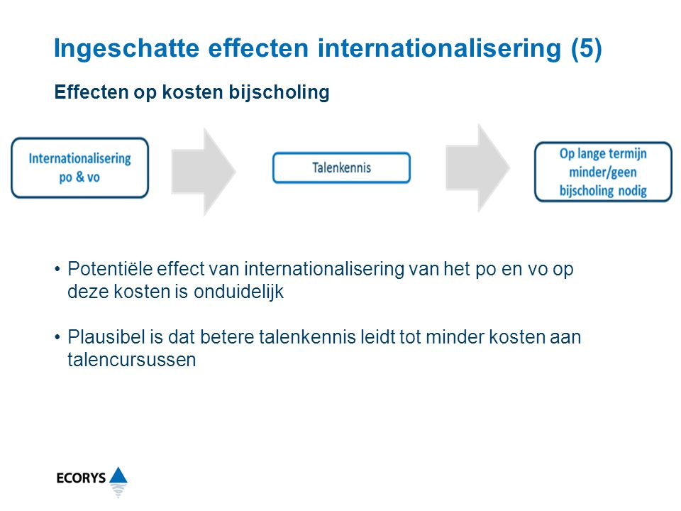 Ingeschatte effecten internationalisering (5)