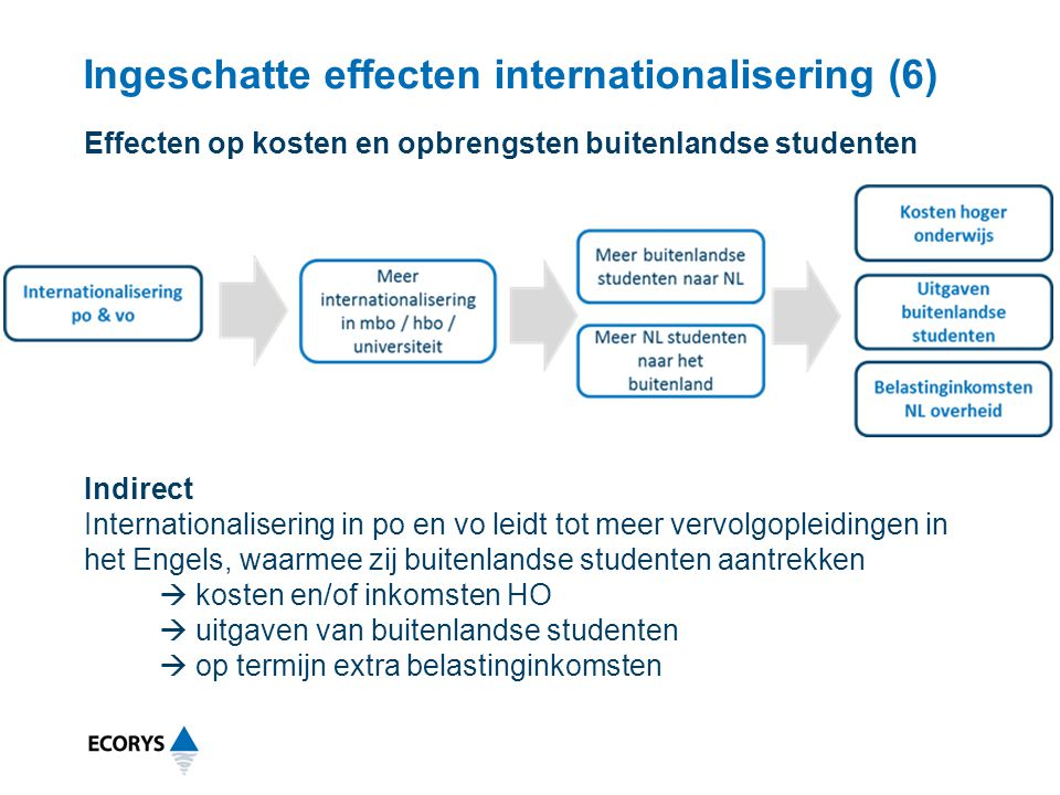 Ingeschatte effecten internationalisering (6)