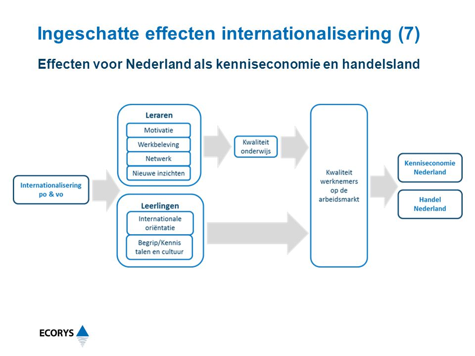Ingeschatte effecten internationalisering (7)